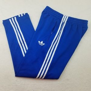 Adidas Trefoil Blue and White Track Jogger Pants